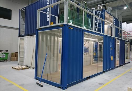 containerwoning mede gerealiseerd door Jaleco Totaal Projectafbouw