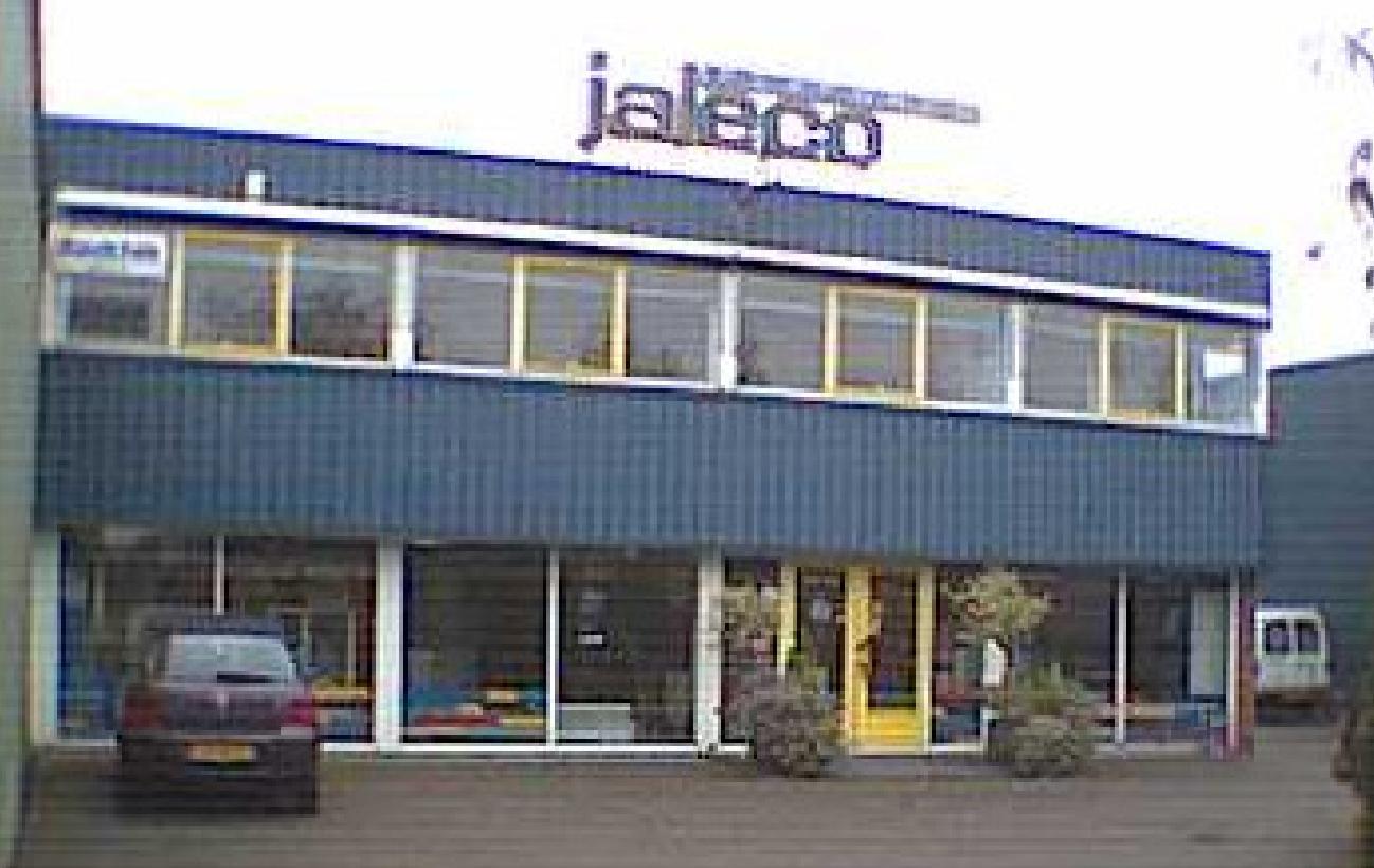 Het gebouw waar Jaleco jaren lang heeft gezeten.