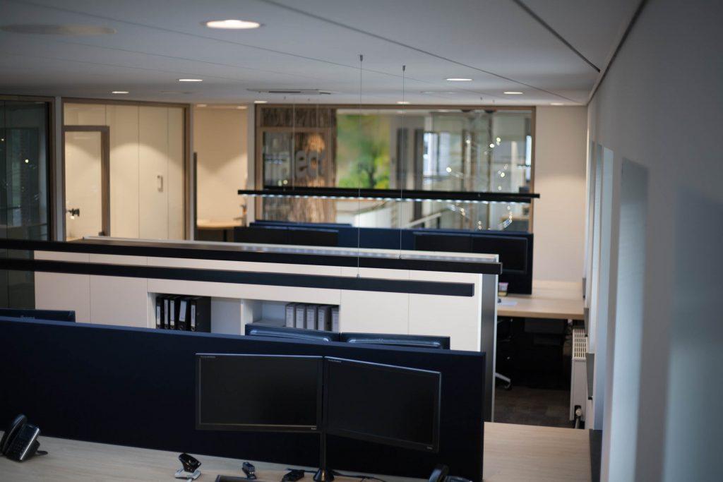 Kantoorplek voor de medewerkers van Jaleco Totaal Projectafbouw
