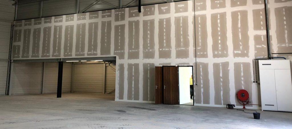 Wanden gemonteerd door Jaleco Totaal Projectafbouw
